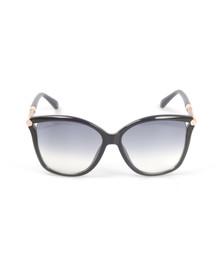 Jimmy Choo Womens Blue Tatti Sunglasses