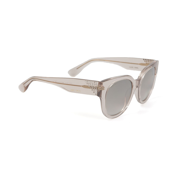 Jimmy Choo Womens Transparent Ola Sunglasses main image