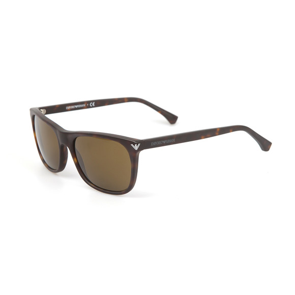 Emporio Armani Mens Grey EA4056 Sunglasses main image