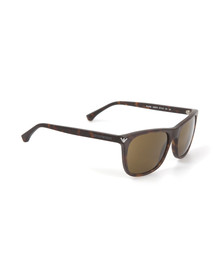 Emporio Armani Mens Grey EA4056 Sunglasses