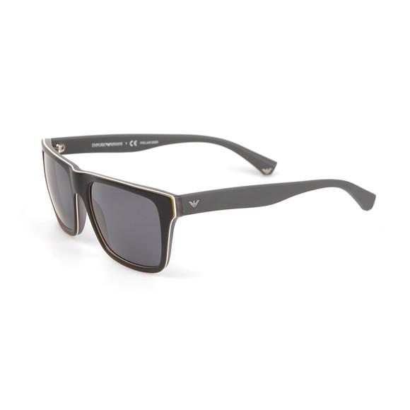 Emporio Armani Mens Grey EA4048 Sunglasses main image