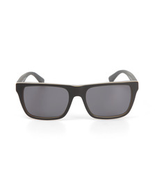 Emporio Armani Mens Grey EA4048 Sunglasses