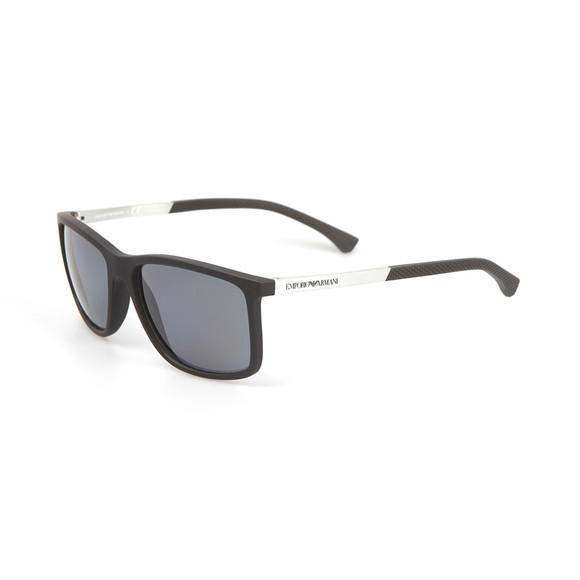 Emporio Armani Mens Black EA4058 Sunglasses