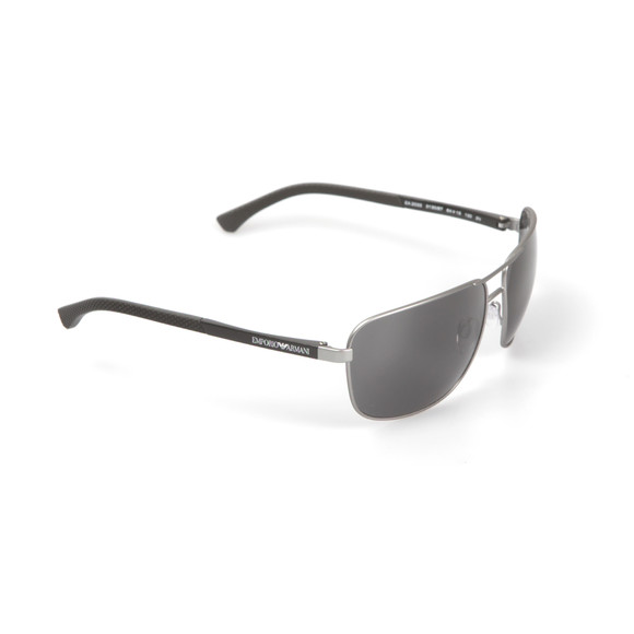 Emporio Armani Mens Silver EA2033 Sunglasses main image