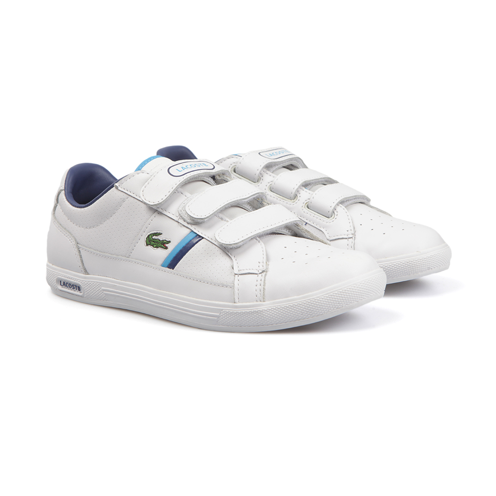 b06d7d180f448 Lacoste Sport Europa Strap Trainers