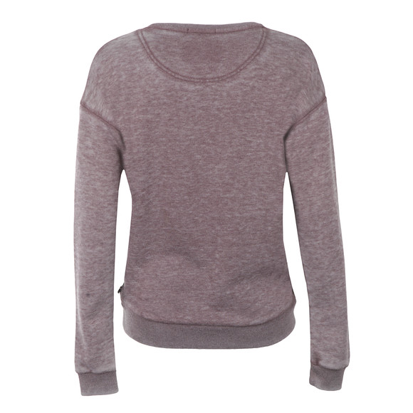 Maison Scotch Womens Brown Burn Out Theme Sweat main image
