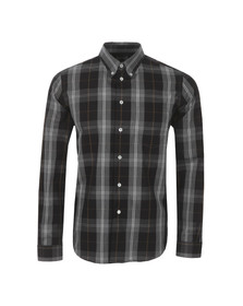 Paul Smith Mens Black Casual Check Shirt