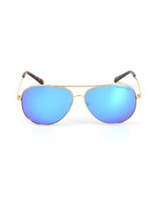 Michael Kors Womens Gold MK5016 Kendall Sunglasses