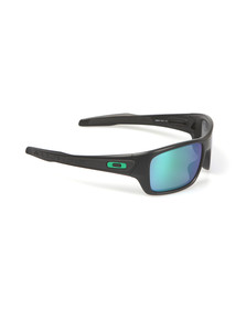 Oakley Mens Black Turbine Sunglasses