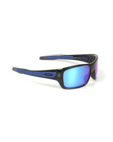 Oakley Mens Purple Turbine Sunglasses
