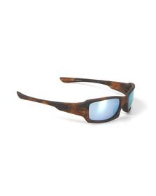 Oakley Mens Blue Fives Squared Sunglasses