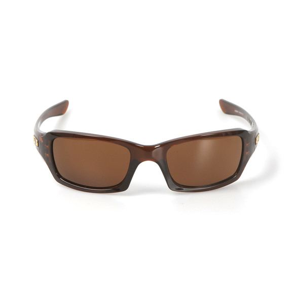 Oakley Mens Brown Fives Squared Sunglasses main image