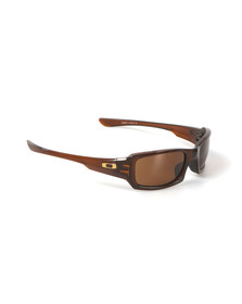 Oakley Mens Brown Fives Squared Sunglasses