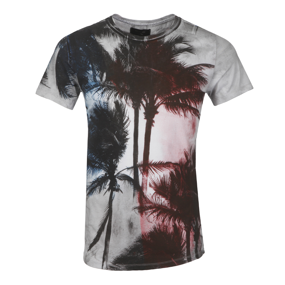 Palm Scoop Neck T-Shirt main image