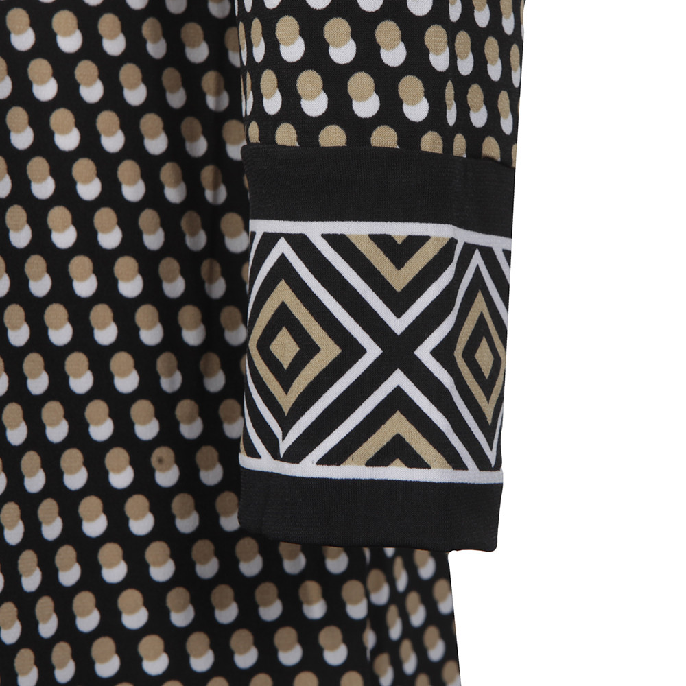 Alston Border Wrap Dress main image