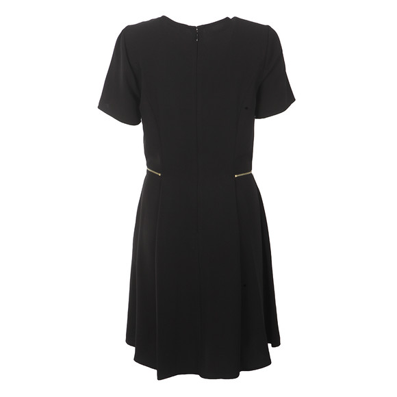 Michael Kors Womens Black Zipper Waist Dress main image