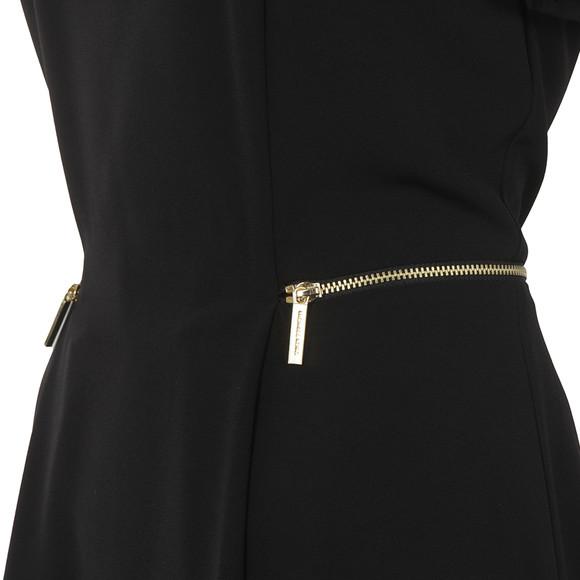 Michael Kors Womens Black Zipper Waist Dress main image