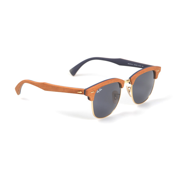 Ray Ban Mens Black ORB3016 Clubmaster Sunglasses main image