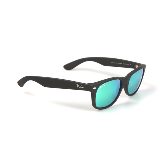 Ray Ban Mens Green Wayfarer Sunglasses main image