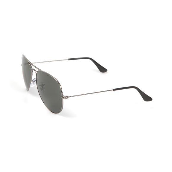 Ray-Ban Mens Black ORB3025 Aviator Sunglasses main image