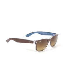 Ray Ban Mens Brown Wayfarer Sunglasses