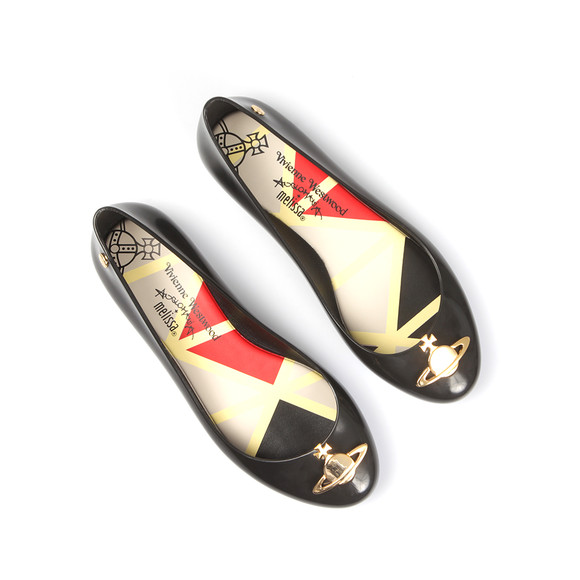 Vivienne Westwood Anglomania X Melissa Womens Black Space Love 16 Shoe main image