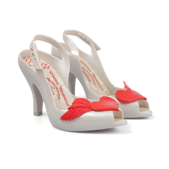 Vivienne Westwood Anglomania X Melissa Womens Off-White Lady Dragon 16 Heel main image