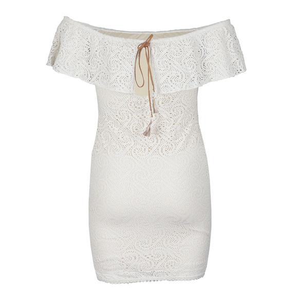 Babymilk Womens Beige Off The Shoulder Dress main image