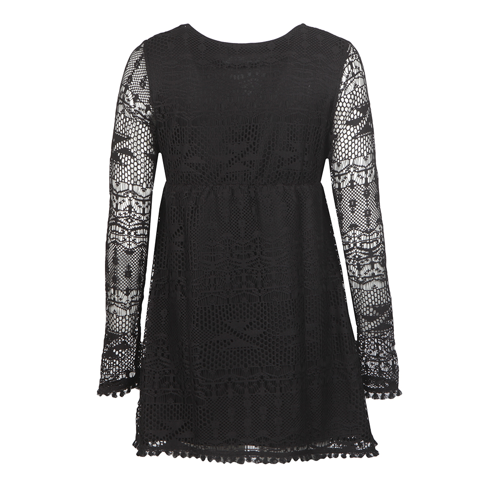Long Sleeve Textured Dress main image