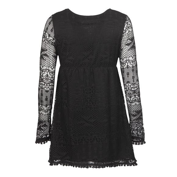 Babymilk Womens Black Long Sleeve Textured Dress
