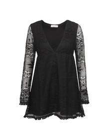 Babymilk Womens Black Long Sleeve Textured Dress