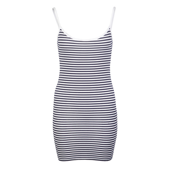 Babymilk Womens White Stripe Dress main image