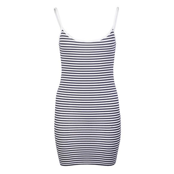 Babymilk Womens White Stripe Dress
