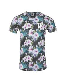 Eleven Degrees Mens Black Orchid Sub T Shirt