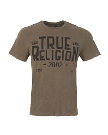 True Religion Mens Green MFG T Shirt
