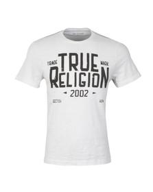 True Religion Mens White MFG T Shirt