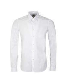 Paul Smith Mens White Long Sleeve Tailored Shirt
