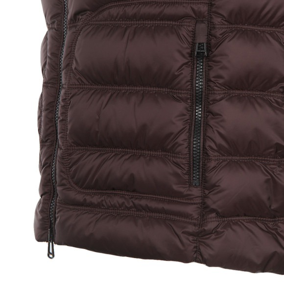 Belstaff Mens Red Harbury Down Gilet main image