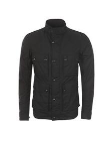Belstaff Mens Black Ashfield Wax Jacket