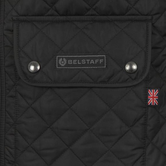 Belstaff Mens Black Quilted Waistcoat