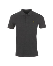 Lyle and Scott Mens Grey Plain Polo
