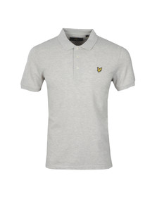 Lyle and Scott Mens Off-white S/S Polo