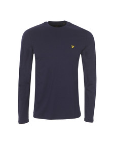 Lyle and Scott Mens Blue L/S Tee