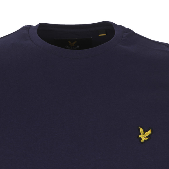 Lyle and Scott Mens Blue L/S Tee main image