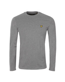 Lyle and Scott Mens Grey L/S Tee