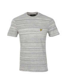 Lyle and Scott Mens Grey S/S Space Dye Tee