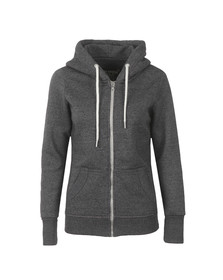 Superdry Womens Grey OL Luxe Edition Zip Hoody