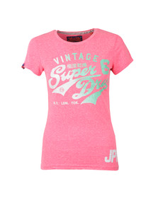 Superdry Womens Pink Stacker Tee