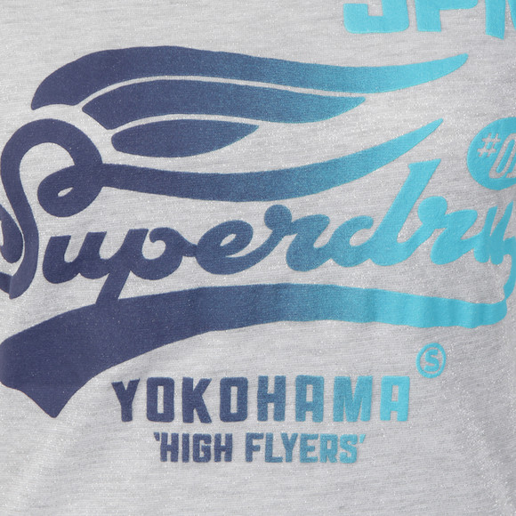 Superdry Womens Grey High Flyers Tee main image