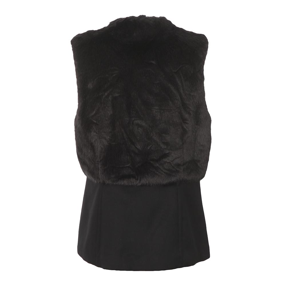 Fitted Faux Fur Vest main image